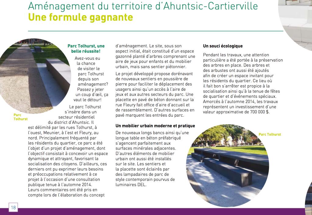 Le Bulletin d'Ahuntsic-Cartierville Vol. 12, no 2, AUTOMNE, HIVER 2015-16