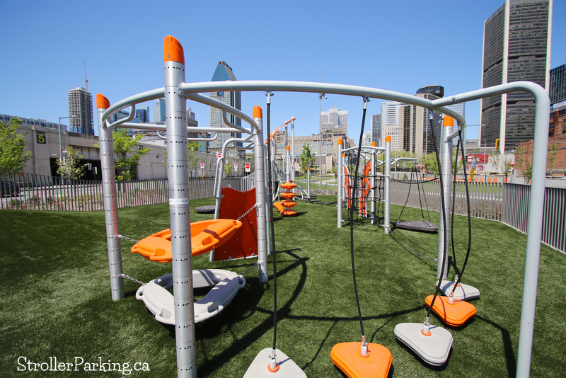 Bonaventure park strollerparking